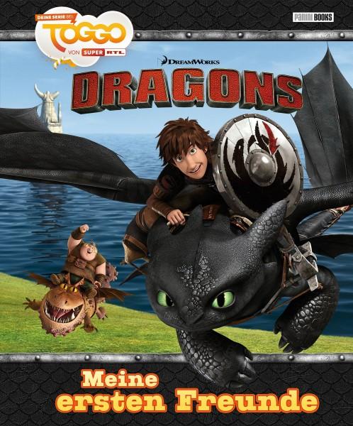 Dragons - Meine ersten Freunde - Freundebuch Cover