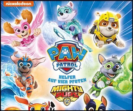 Paw patrol – Mighty Pups Stickerkollektion