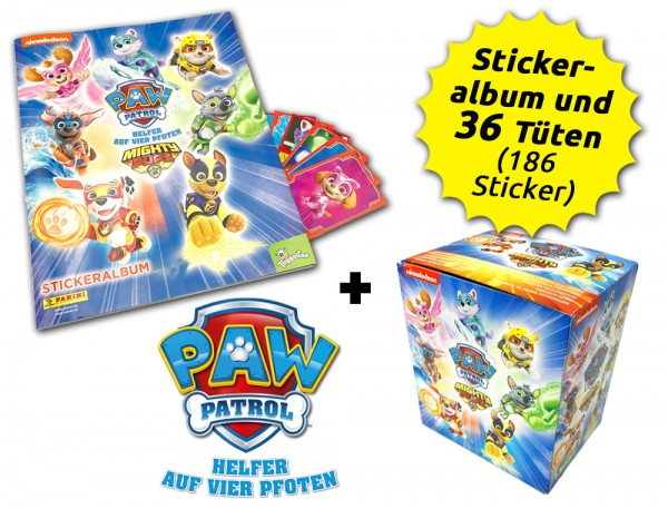 Paw Patrol: Mighty Pups Sticker - Box-Bundle