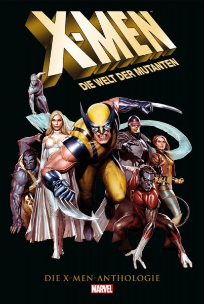 X-Men: Die Welt der Mutanten - Die X-Men Anthologie Cover