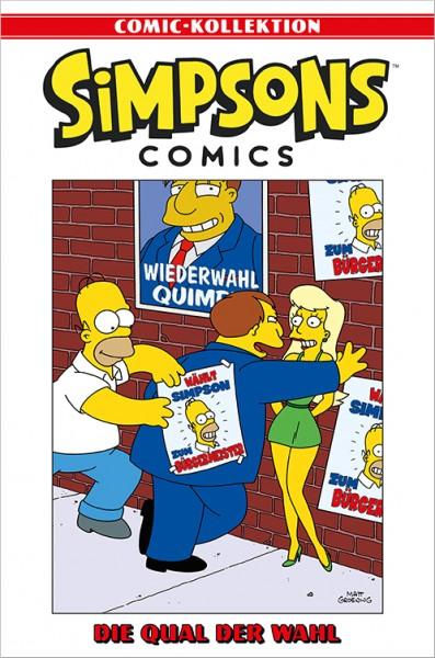 Simpsons Comic-Kollektion 55: Die Qual der Wahl Cover