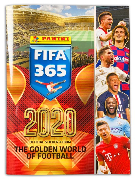 Panini FIFA 365 2020 Stickerkollektion – Album