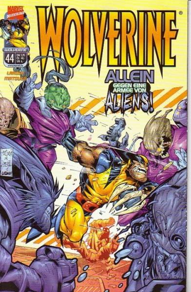 Wolverine 44: Allein gegen eine Armee von Aliens!