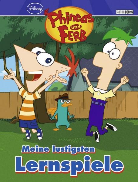 Disney: Phineas und Ferb - Meine lustigen Lernspiele