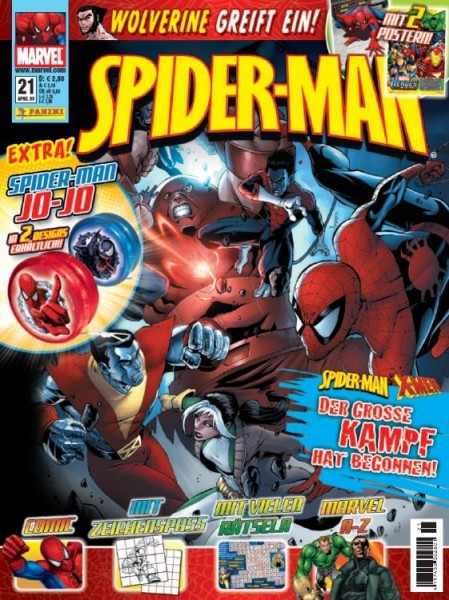 Spider-Man Magazin 21
