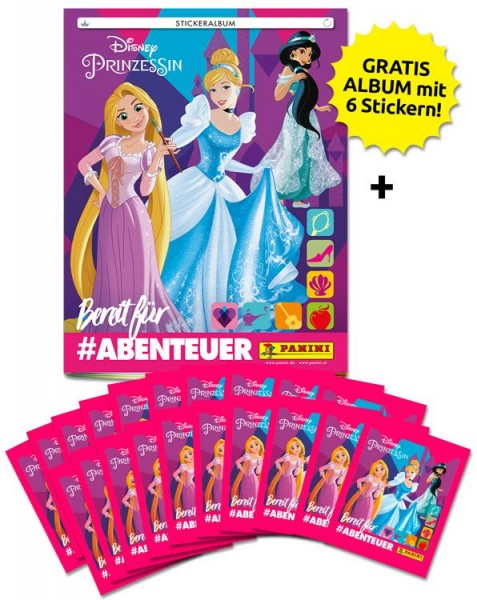 Disney Prinzessinnen Stickerkollektion – Sammelbundle