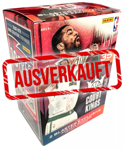 NBA 2018-19 Court Kings Trading Cards - Blasterbox- ausverkauft