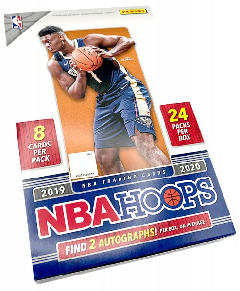 NBA 2019/20 Hoops Basketball Trading Cards - Hobbybox