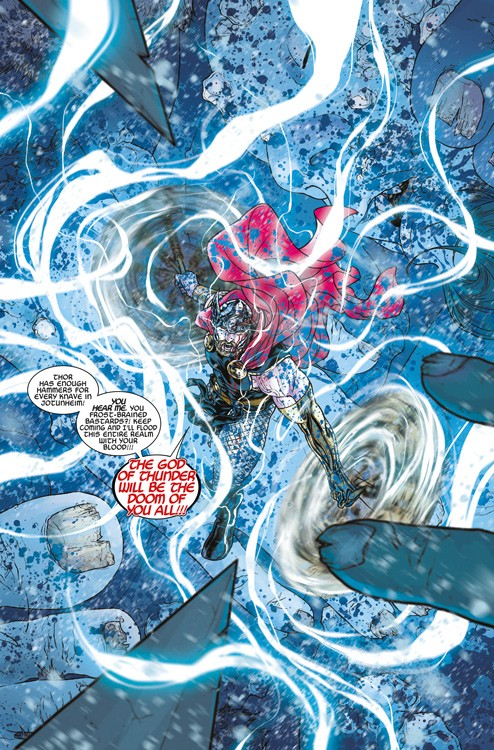 War of the Realms Blick in den Comic Vorschauseite 1