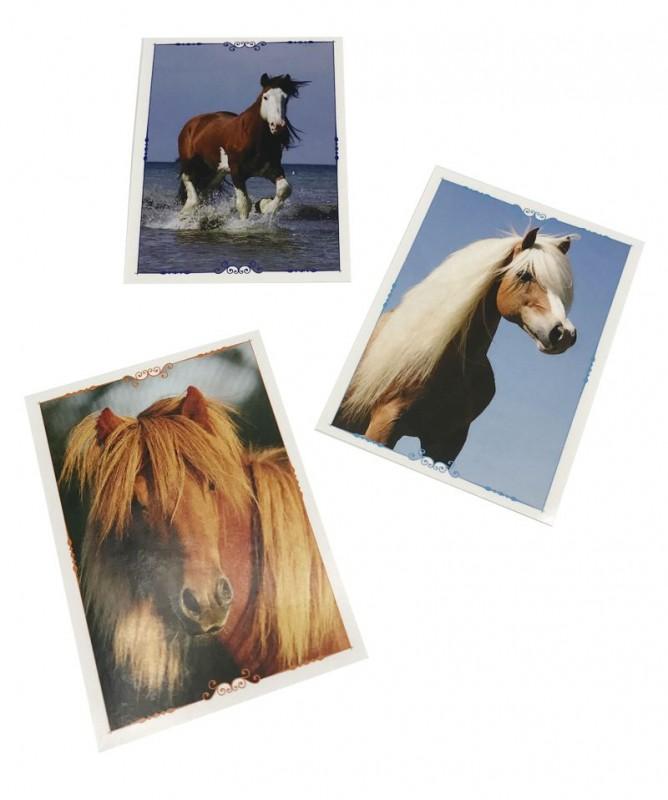 Pferde Sticker - Eine Reise durch die Welt der Düfte - Ponys Beispiel