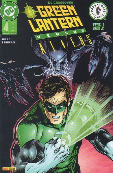 DC Crossover 4: Green Lantern versus Aliens 1