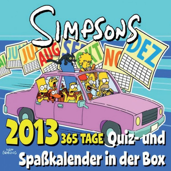 Simpsons 365-Tage - Abreisskalender (2013)