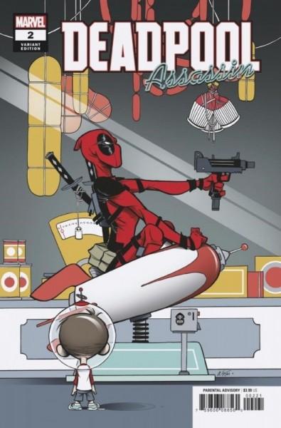Deadpool 15 Variant 2