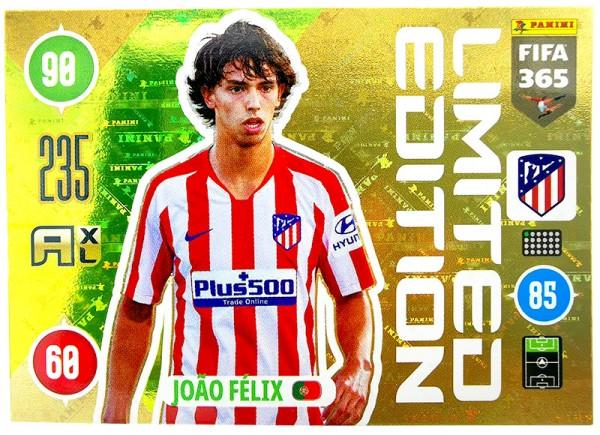 Panini FIFA 365 Adrenalyn XL 2021 Kollektion – LE-Card João Félix Vorne