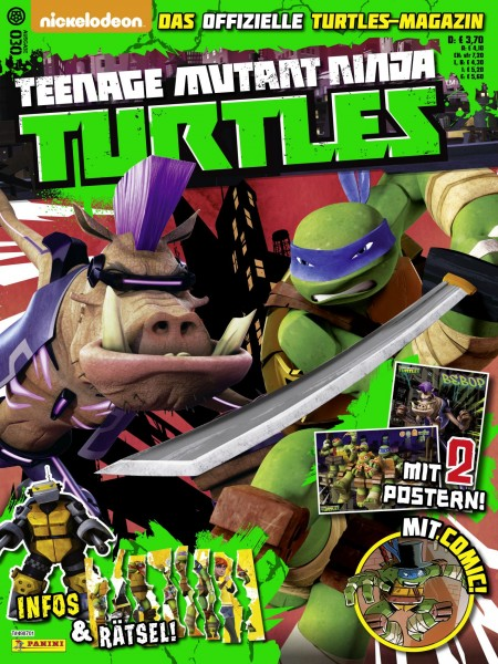 Teenage Mutant Ninja Turtles - Magazin 30