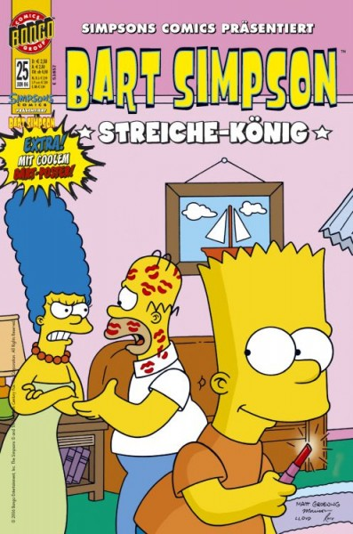 Bart Simpson Comics 25