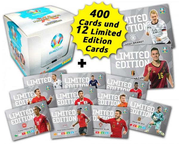 UEFA Euro 2020 Adrenalyn XL Limited Edition Card Bundle