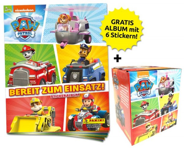 Paw Patrol Stickerkollektion 3 – Sticker-Starter-Bundle