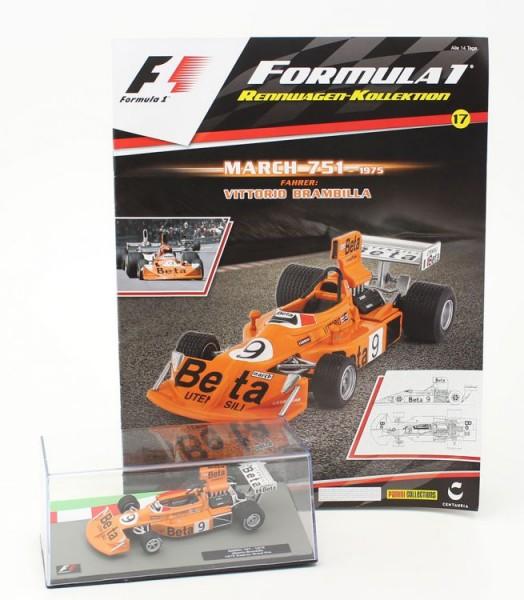 Formula 1 Rennwagen-Kollektion 17 - Vittorio Brambilla (March 751)