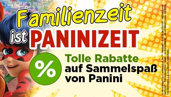 Familienzeit ist Paninizeit: Tolle Rabatte auf Sammelkollektionen