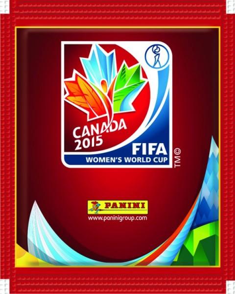 FIFA Frauen WM Sticker-Kollektion - 1 Tüte