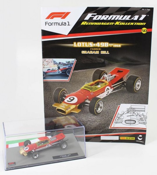Formula 1 Rennwagen-Kollektion 50: Graham Hill (Lotus 49B)