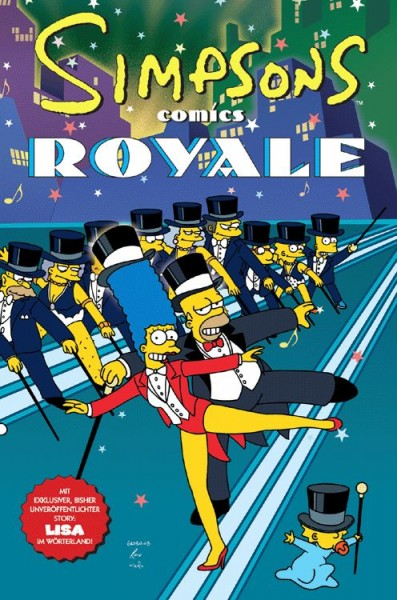 Simpsons Sonderband 12: Simpsons Royal