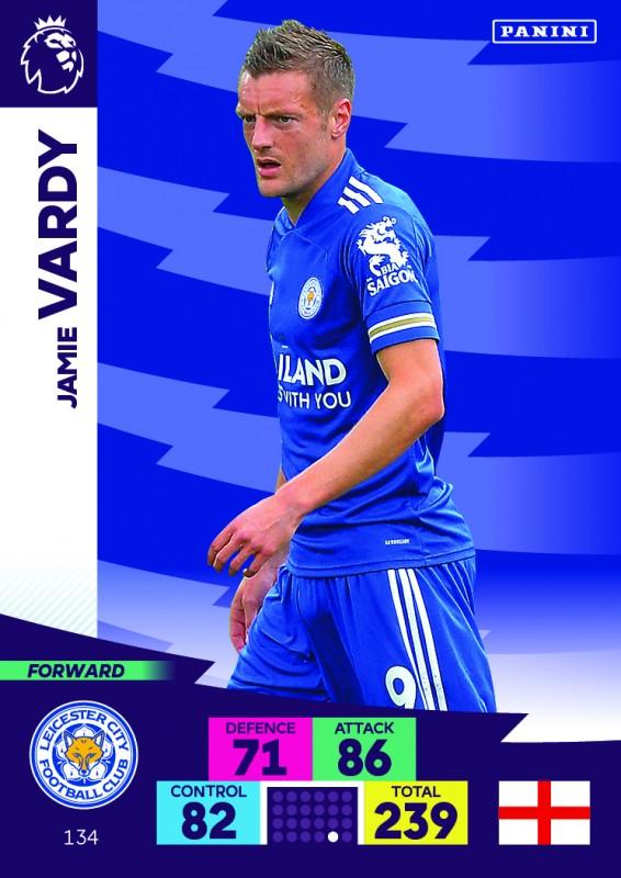 Panini Premier League Adrenalyn XL 2020/21 - Jamie Vardy