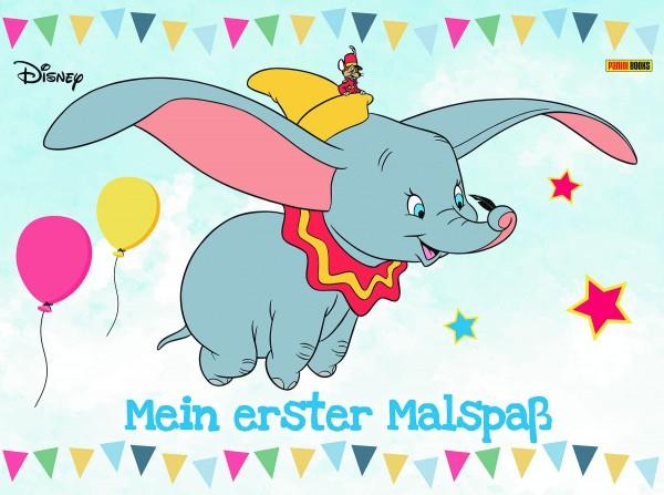 Disney Mix - Mein erster Malspaß Malbuch Cover
