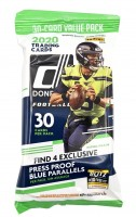 NFL 2020 Donruss Football Trading Cards - Fatpack