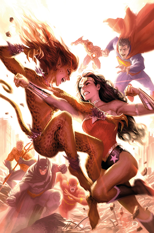 Wonder Woman gegen Cheetah!