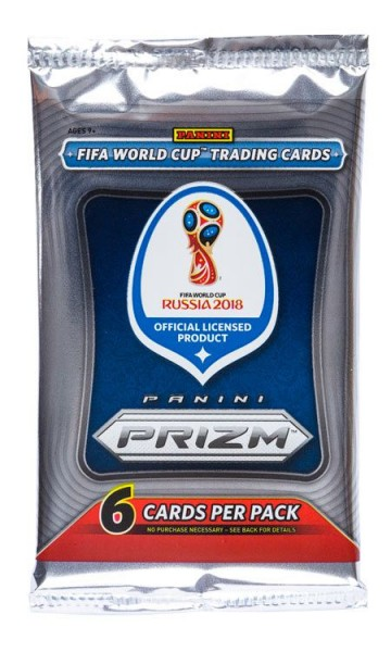 Panini PRIZM World Cup Soccer 2018 Trading Cards - Booster (Hobby)