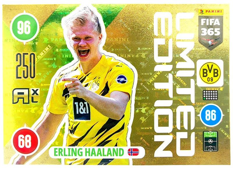 Panini FIFA 365 Adrenalyn XL 2021 - Limited Edition Card Erling Haaland