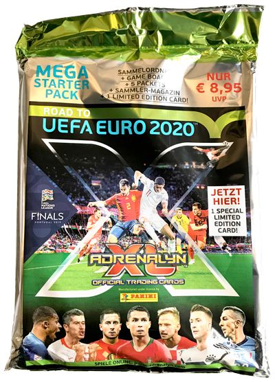 Road To Uefa Euro 2020 Adrenalyn Xl Starter Set