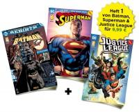 DC Heftserien Schnupper-Bundle