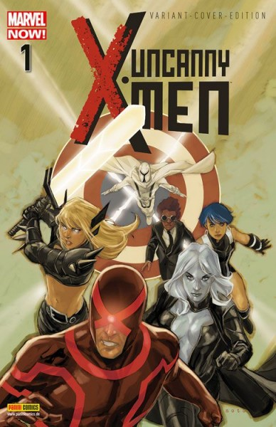 Uncanny X-Men 1 Variant - Comic-Action 2013