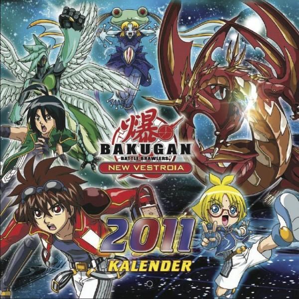 Bakugan - Wandkalender (2011)