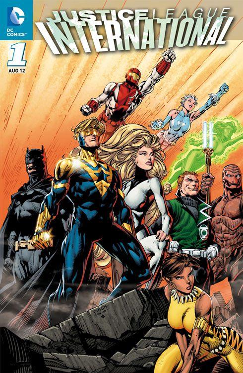 Justice League International 1: Die...