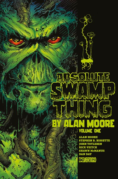 Swamp Thing von Alan Moore 1 Deluxe Edition Cover