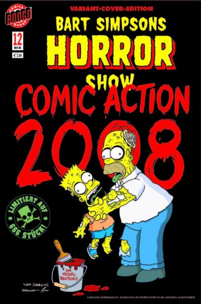 Bart Simpsons Horror Show 12 - Comic Action 2008