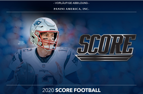 NFL Score 2020 - Trading Cards - Blasterbox