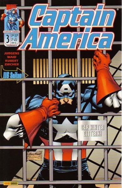 Captain America 3 (2001): Cap hinter Gittern