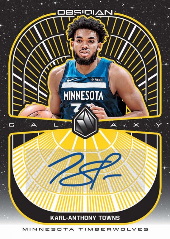 NBA Obsidian Basketball Trading Cards 2019/20 - Karl Anthony Towns
