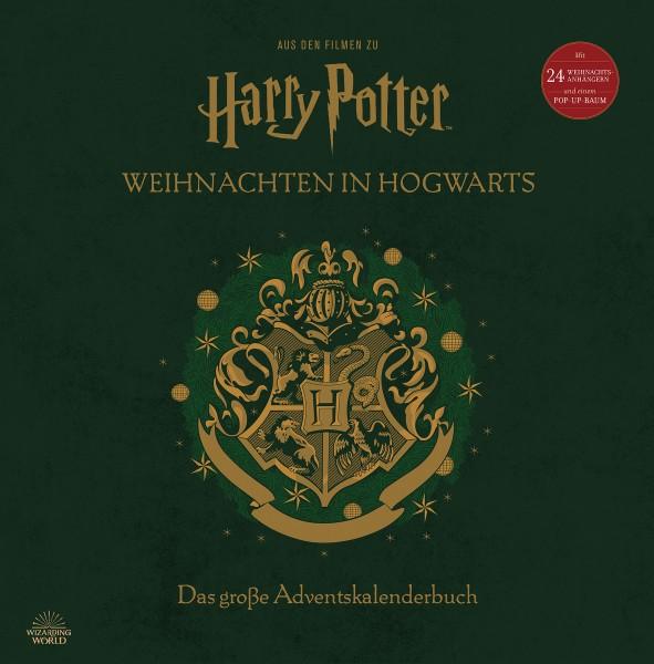 Harry Potter - Weihnachten in Hogwarts: Das große Adventskalenderbuch