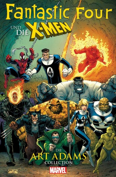 Fantastic Four und die X-Men Collection von Art Adams