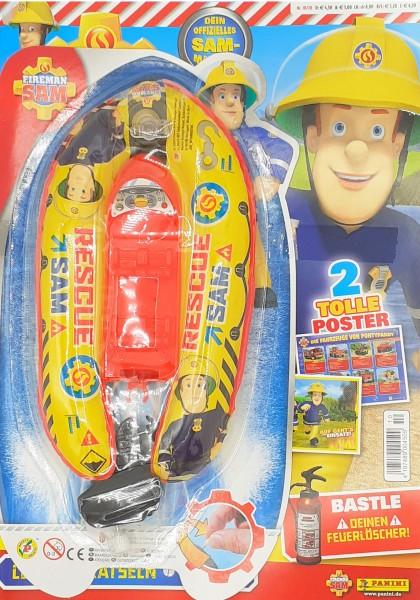 Feuerwehrmann Sam Magazin 10/20 Cover mit Extra