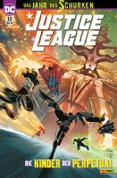 Justice League 15: Die Kinder der Perpetua! Cover