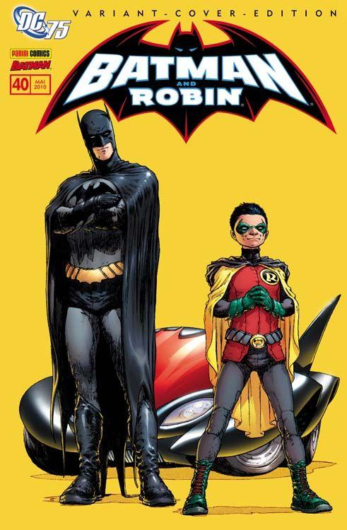 Batman 40: Batman Reborn Variant