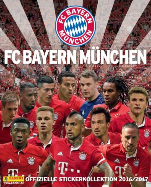 FC Bayern München 2016/2017 Stickerkollektion - Album