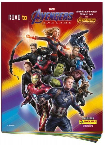 Road to Avengers: Endgame Album Cover